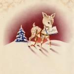 Vintage_Deer_Snow