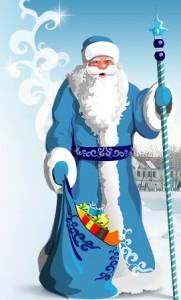 Deda Mraz u Rusiji