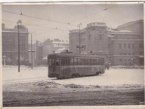 Beograd nekada, zimi