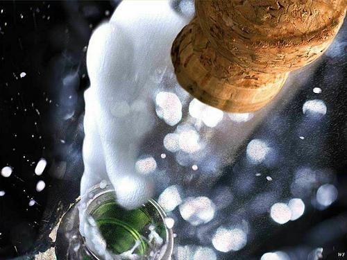 šampanjac za Novu godinu