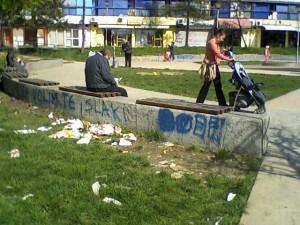 Brače Jerković, parkić