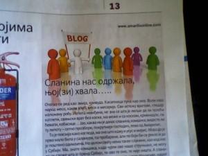 tekst objavljen 12.maja 2011, Potrošač, dodatak Politike