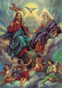 Bog, Sveti Duh i Isus Hrist