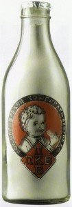 mleko u staklenim flašama