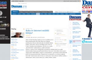 Dnevni list Danas - Dijalog - Kako će internet uništiti Srbiju-_1318590281050