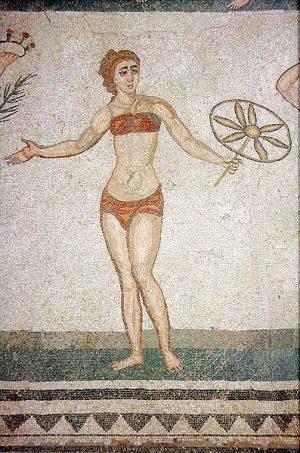 397px-PiazzaArmerina-Mosaik-Bikini