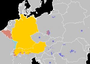 nemačko govorno područje