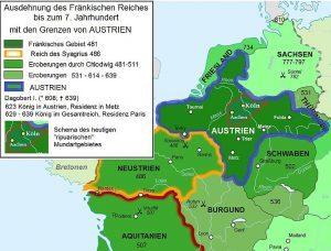 Franačko carstvo širenje Dagobert