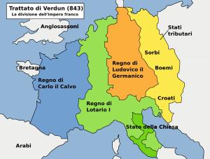 Nemci Stvaranje-Nemačke-i-Francuske-podela-Karlovog-carstva