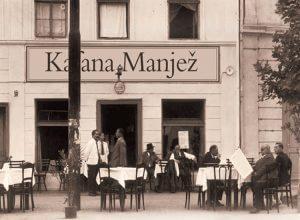 Manjež kafana stari Beograd