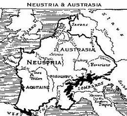 Nemačka plemena u Evropi Francuska