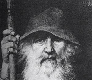 Odin Vodan germanska mitologija