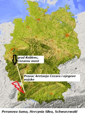 Perunova šuma u Nemačkoj