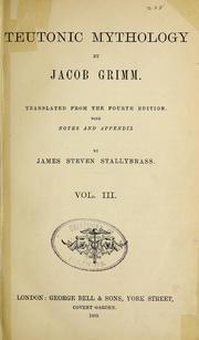 nemačka mitologija jakob grim