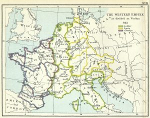 Evropa 843 godina