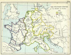 Evropa 843 godina germanizacija počinje