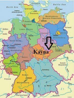 Stari srpski gradovi u Nemačkoj Kayna