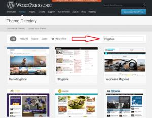 magazin besplatna WordPress tema
