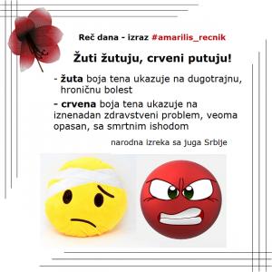 sedi drvo na drvo žuti žutuju stari srpski izrazi
