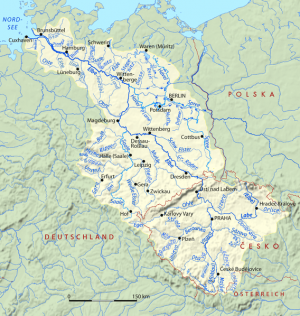 reka Laba, Elbe stara srpska teritorija