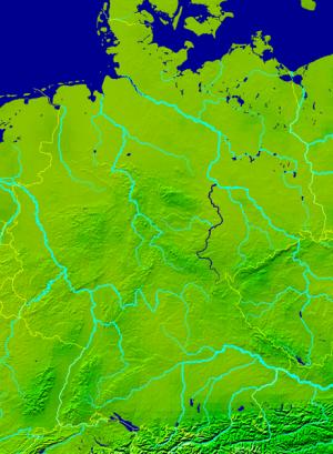reka Zala,Nemačka stara srpska teritorija