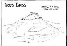 Novo Brdo pogled sa juga
