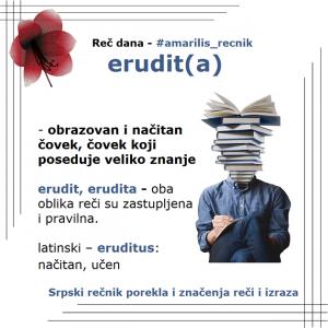 bilmez erudita značenje srpski rečnik