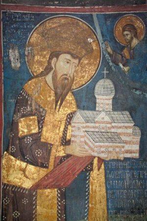 Stefan Decanski ktitor manastira Dečani
