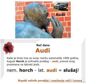 efeb audi značenje srpski rečnik