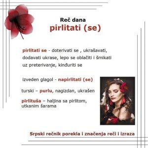 gatati pirlitati šta znači srpski rečnik