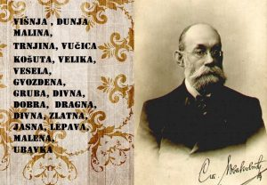 srpska ženska imena srednji vek