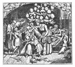 Martin Luter i prva novogodišnja jelka