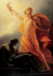 Prometej donosi ljudima vatru – Hajnrih Figer