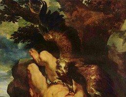 Prometej, simbol Vodolije Rubens