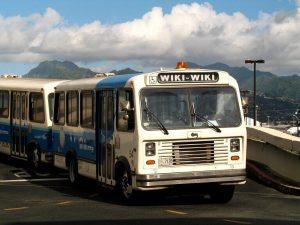 Wiki Wiki autobus, Wikipedia