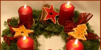advent, venac u čast Hristovog rođenja