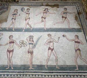 bikini u antici