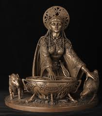 prva veštica keltska tradicija