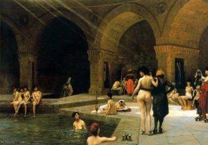tursko kupatilo istorija