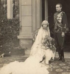 venčanje kneza Pavla knjeginje Olge