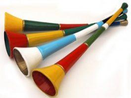 vuvuzela poreklo reči