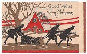 Božić i panj u Evropi