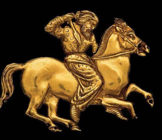 Skitijski ratnik britanski muzej