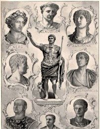 persiranje kroz istoriju rimski carevi