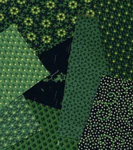 smaragdno zelene tapete i tkanine