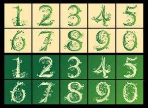 muški i ženski brojevi