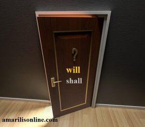 will shall upotreba u engleskom jeziku