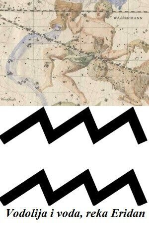 Vodolija i voda, reka Eridan