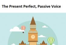 Present Perfekt pasiv engleski