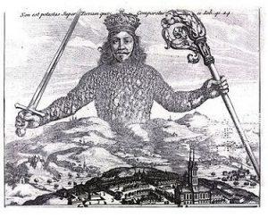 suveren značenje Leviathan_by_Thomas_Hobbes